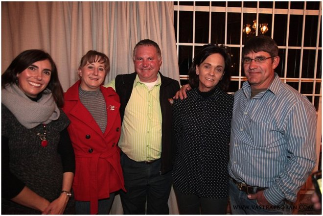 Albert & Karen van Zyl (Meander Boran) and Hanlie & Ockert Werner (Model Boran).
