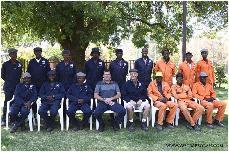 The Vastrap Team (Maseru, January & Mokotso absent).