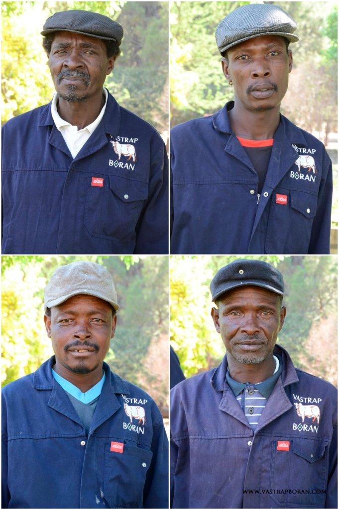 Clockwise from top left - Thabiso Paulus Rasoeu; Montwedi Johannes Motsetse ('Sanè'); Sekhosana Mabaleka; Tsokolo Francis Molete ('Shilling')