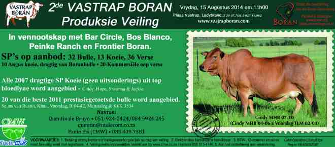 Vastrap Auction 2014_ Afrikaans