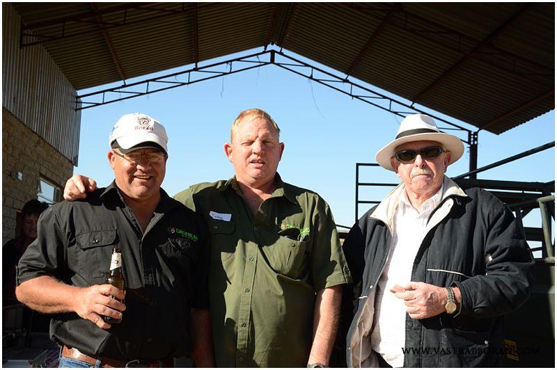 Tinus Bessinger, Evan de Jager & Lou de Jager from Groenland Borane.